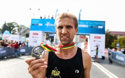 Муж и жена из Украины выиграли Вильнюсский марафон