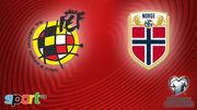 Где смотреть онлайн матч отбора Евро-2020 Испания – Норвегия