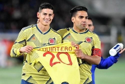 Фалькао принес Колумбии победу над Японией