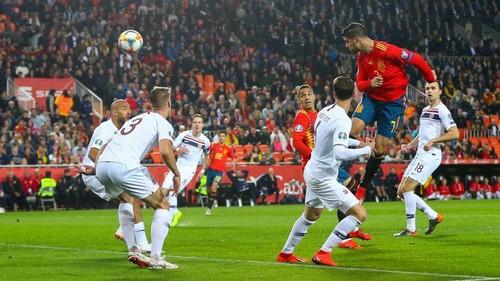 Испания –  Норвегия –  2:1. Текстовая трансляция матча