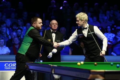 Tour Championship: в финале сыграют Робертсон и О'Салливан