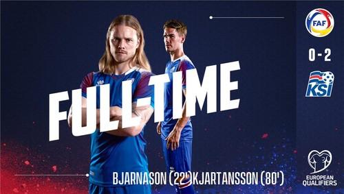 Андорра — Исландия - 0:2. Видео голов и обзор матча