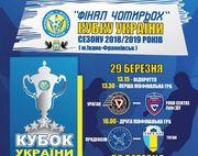 Финал Четырех Кубка Украины: расписание матчей