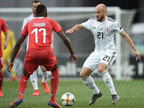 Грузия – Швейцария – 0:2. Видео голов и обзор матча