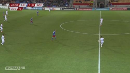 Лихтенштейн — Греция - 0:2. Видео голов и обзор матча