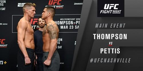 UFC Fight Night 148. Энтони Петтис нокаутировал Стивена Томпсона