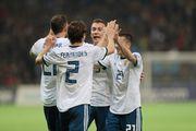 Группа I. Россия разгромила Казахстан, Шотландия сильнее Сан-Марино
