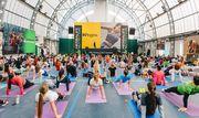 Nike отпраздновал 20-летие  фитнес конвенции в Киеве
