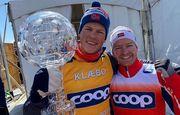 Клэбо завоевал Кубок мира. Итоги лыжного уик-энда