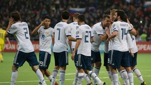 Казахстан — Россия — 0:4. Видео голов и обзор матча