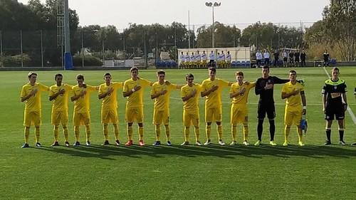 Сборная Украины U-17 обыграла Косово U-17 в отборе на Евро-2019