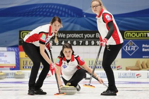 Сборная Швейцарии выиграла женский чемпионат мира по керлингу
