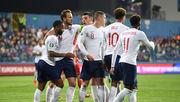 Группа A. Англия разгромила Черногорию