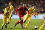 РОНАЛДУ: «Играли лучше, чем с Украиной, но мяч не шел в ворота»