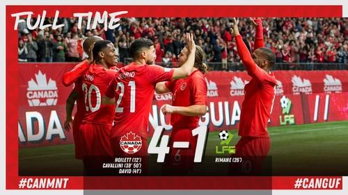 ВИДЕО. Канада оригинально разыграла аут и забила гол