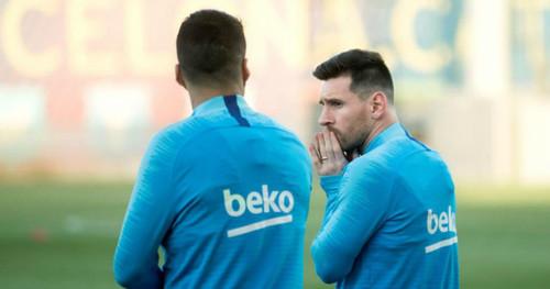 Месси и Суарес пропустили тренировку Барселоны