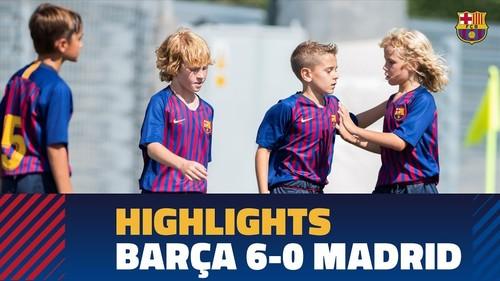 10-летние мальчики Барселоны разгромили Реал со счетом 6:0