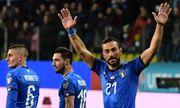 Группа J. Италия забила 6 голов, ничья Боснии и Греции