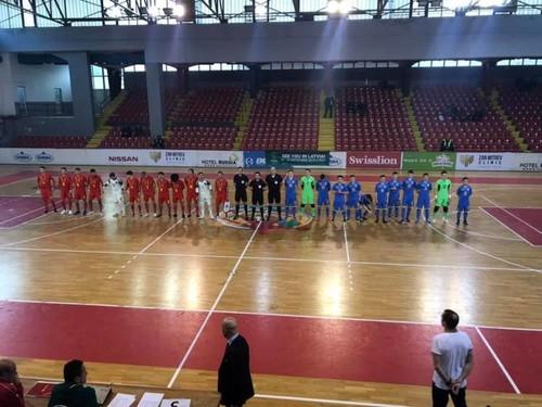 Євро-2019 (U-19) з футзалу. Збірна України розпочала з перемоги