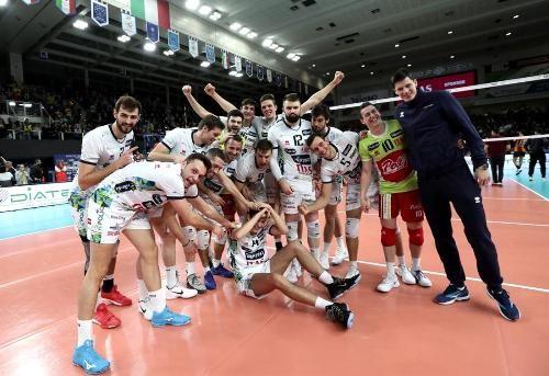Волейболисты Трентино завоевали мужской Кубок ЕКВ