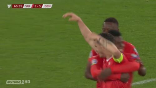Швейцария – Дания – 3:3. Видео голов и обзор матча