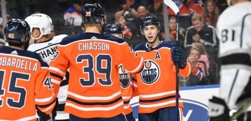 НХЛ. 8 шайб Едмонтона, перемоги Вашингтона, Коламбуса і Монреаля