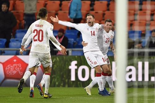 ВИДЕО ДНЯ. Гениальный камбэк в отборе ЕВРО сборной Дании за 9 минут