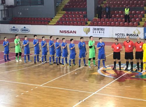 Юнацька збірна України з футзалу зробила ще один крок до ЄВРО-2019
