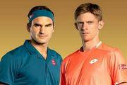 Андерсон - Федерер. Смотреть онлайн. LIVE трансляция