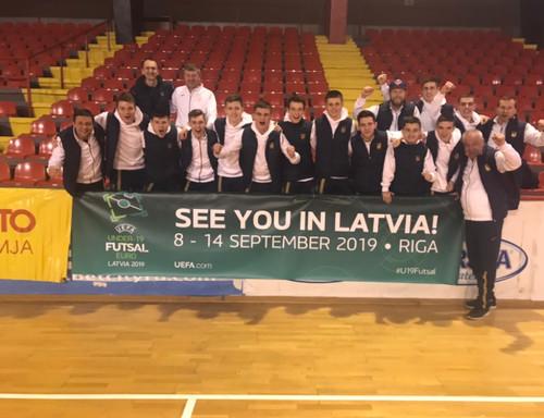 Юнацька збірна України кваліфікувалася до фінальної частини Євро-2019