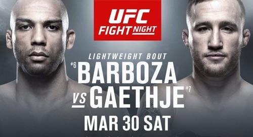 UFC. Едсон Барбоза – Джастін Гейджі. Прогноз і анонс на бій