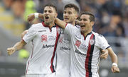 Серия А. Кальяри в гостях забил три гола в ворота Кьево