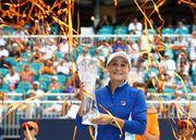 Барти стала победительницей турнира в Майами