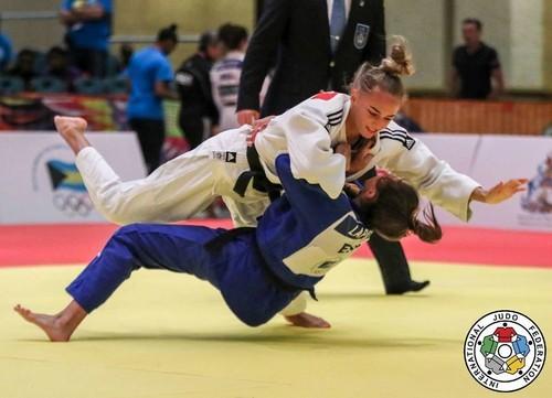 Билодид выиграла серебро на турнире серии Grand Slam в Тбилиси