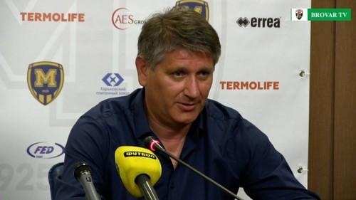 Сергей Ковалец – лучший тренер 20-го тура Первой лиги