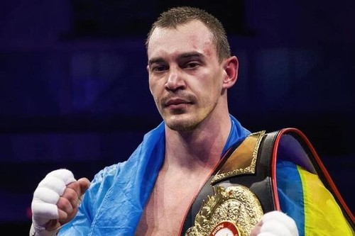 Александр Тесленко завоевал чемпионский пояс WBA/NABA