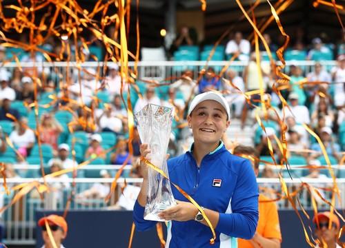 Барті стала переможницею турніру в Маямі