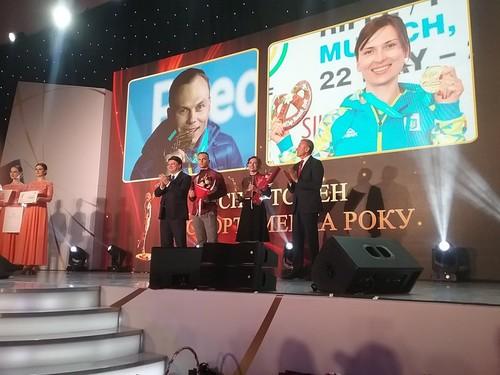 Костевич и Абраменко – лучшие спортсмены Украины в 2018 году