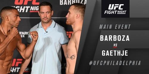 UFC on ESPN 2. Гейджи нокаутував Едсона Барбозу