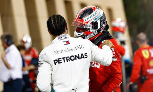 Льюис ХЭМИЛТОН: «Мне повезло, а Леклер еще выиграет много гонок»