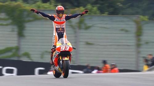 MotoGP. Марк Маркес выиграл этап в Аргентине