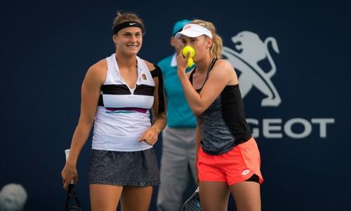 Мертенс и Соболенко выиграли 10-й матч и второй турнир подряд в паре