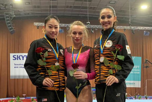 Украинцы выиграли медали на домашнем турнире в Киеве