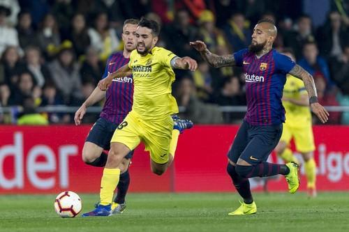 Вильярреал отыгрался с 0:2, но не сумел удержать победу над Барселоной