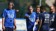 МАНЧИНИ: «Цель сборной Италии - Евро-2020, а не Лига наций»