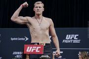 Россиянин Волков снят с турнира UFC из-за допинга
