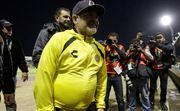 ВИДЕО. Диего Марадона устроил скандал в Мексике