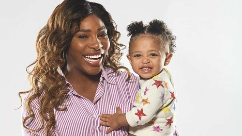 ВИДЕО. Серена Уильямс снялась в рекламе вместе с дочерью