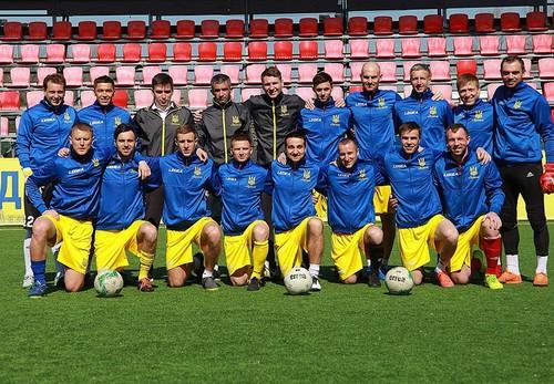 Став відомий склад збірної України з міні-футболу