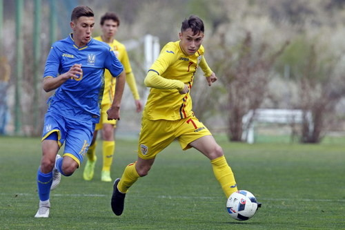 Сборная Украины U-15 дважды обыграла Румынию